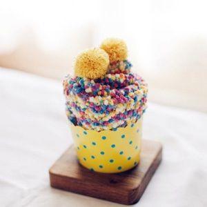 🧁COMING SOON !!🧁- Cupcake Pom Pom Socks